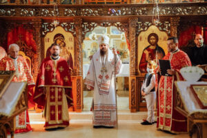 """Hramul Parohiei """"Sfântul Dumitru"""" din Florești"""
